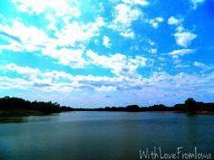 Gray's Lake. Des Moines, Iowa.