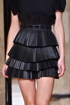 Isabel Marant at Paris Fashion Week Spring 2015. #ranitasobanska #fashion #inspirations