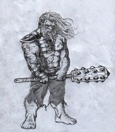 Dwarf warrior; A little Somethin... by caananwhite on DeviantArt