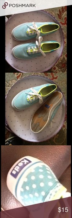 Woman's KEDS size 6.5  sweet and sassy. . KEDS have been around for FOUR generations in my family.They seem to never go out of style.  FUN ,FUNTIONAL& TIMELESS ! keds Shoes Athletic Shoes