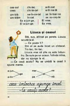 Romanian Language, Vintage School, Baby Must Haves, First Time Moms, Kids Education, Social Platform, Childhood Memories, Nostalgia, Preschool