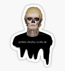 Tate Langdon from American Horror Story - Murder House Pegatina
