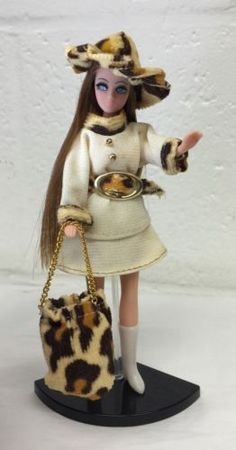 Topper-Dawn-Doll-Longlocks-H17-In-Cindy-Joy-Outfit-w-Hat-Boots-Purse-Belt