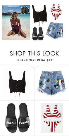 """""""Taking pictures of a cute pug – Sahara"""" by your-gorgeous-anons ❤ liked on Polyvore featuring Disney Stars Studios, Schutz and Nikon"""