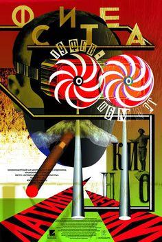 Poster  Ostengruppe, Fiesta, pour festival au Kino à Moscou