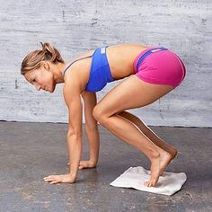 Another pinner said: My trainer makes me do these and by far will give you flatter abs faster then any crunches!