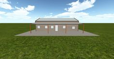 3D #architecture via @themuellerinc http://ift.tt/2aoWUis #barn #workshop #greenhouse #garage #DIY