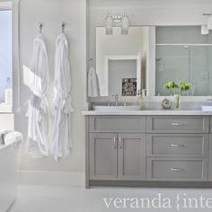 Bathroom Gray Bathroom Design, Pictures, Remodel, Decor and Ideas