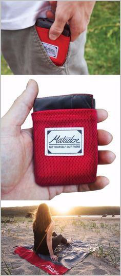 Matador EDC Pocket Blanket, Picnic Beach Blanket