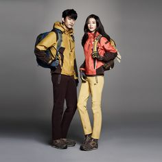 More Of Jeon Ji Hyun & Taecyeon For NEPA's F/W 2014 Ad Campaign | Couch Kimchi