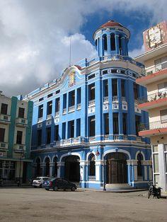 Plaza de la Merced (conocida desde la década de los 60 como Plaza de los trabajadores), Camagüey, Cuba
