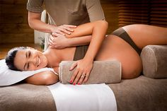 pregnant woman massage