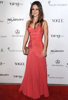 "Rachel Bilson at the Art of Elysium's 4rd Annual Black Tie Charity Gala ""Heaven"" event 2011"