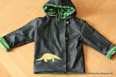 Rock zu Jacke / Skirt becomes jacket / Upcycling