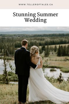 Romantic summer wedding in Calgary. To see more of this Pinebrook Golf Course wedding visit Teller of Tales Photography. Wedding Songs, Wedding Couples, Wedding Photos, Wedding Ideas, Groom Wear, Groom And Groomsmen, Present For Groom, Succulent Wedding Favors, Bride And Groom Pictures