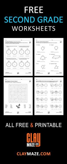 8 best sam images on pinterest classroom ideas grade 3 and math free second grade worksheets grade 2 our collection of free 2nd grade worksheets and fandeluxe Gallery