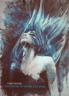 Karou - Daughter of Smoke and Bone by Laini Taylor