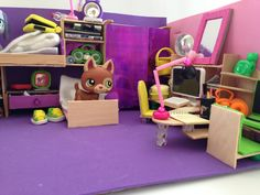 how to make a LPS room - close up