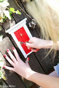 where's the key? Do you remember in the Alice in Wonderland story how Alice forgot the key at the top of the table only to now be the s...