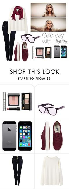 """""""Cold day with Perrie"""" by cheyenne-stock ❤ liked on Polyvore featuring Bobbi Brown Cosmetics, Boohoo, Calder, Vans, Jane Norman, Base Range and Pieces"""