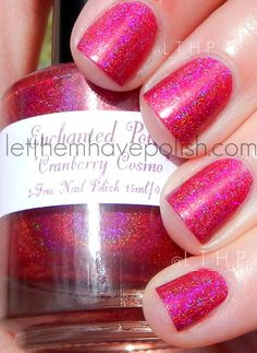 Let them have Polish!: Holo-Day-Caturday!!!! Enchanted Polish Holo Spam!