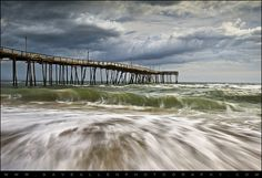 Outer Banks NC Avon Pier Cape Hatteras - Fortitude by Dave Allen Photography, via Flickr