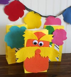 Party Time with The Lorax - Laura Kelly's Inklings Fish Crackers, Classroom Clipart, Book Works, First Year Teachers, Food Tags, The Lorax, Earth Day, Love Is All, Some Fun