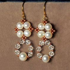 Free pattern for earrings Alberta