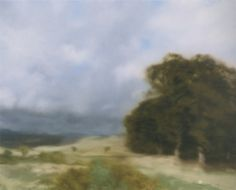 Landscape with Clump of Trees, 1970--photopainting