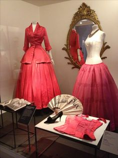 Christian Dior's new look, part of the Victoria and Albert museum collection