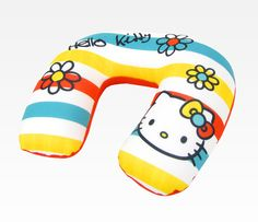 Hello Kitty Adult Travel Pillow: Bright Colors