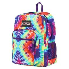 Jansport Hippie Days MegaHertz Backpack - Tie Dye...Kaylyn's book bag is on here...how cool is that...I knew she had good taste :)