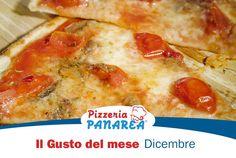 Il nuovo gusto del mese è arrivato. Scoprilo subito! www.pizzeriapanarea.it