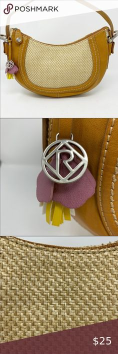 """Relic Montclare Small Hobo Bag in Natural Style:Small hobo handbag Boho NWOT  Brand: Relic  Color: Natural  Details: Silver hardware Purple yellow and white flower and silver relic logo accent piece Zip closure Interior zip pocket and one slip pocket  Material Vegan leather and woven textile  Dimensions 12""""x2""""x7.5 Relic Bags Hobos Plus Fashion, Fashion Tips, Fashion Design, Fashion Trends, Weaving Textiles, Hobo Handbags, Purple Yellow, Hobo Bag, Accent Pieces"""