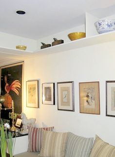 Close Up!: Small Niche Ceiling Shelving