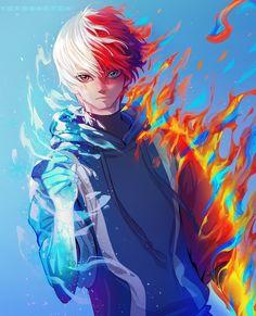 Todoroki by on DeviantArt Anime Films, Anime Characters, Sad Anime Quotes, Anime Friendship, Fanart, Popular Anime, Fairy Tail Anime, Boku No Hero Academy, Awesome Anime