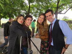 Vilu, Maxi, Angie, Pablo