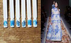 #gzhel #nails #nailart #nailwraps #naildecals #manicure #fashion #fashionstyle #cosmetics #giftforwomens
