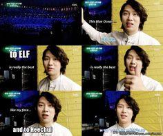 A compliment from Heechul | allkpop Meme Center