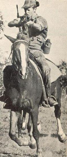 a Grey Scout, Rhodesian Army, circa 1970s.