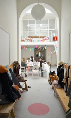 this is probably what the workshop space should look like. ;) (via Camilla Engman)