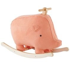 This Little Piggy Rocker from Land of Nod features a plush pig on a sturdy, wooden frame. Rocking horses are so last season.