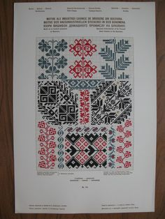 """Photo from album """"Вышивка on Yandex. Folk Embroidery, Cross Stitch Embroidery, Embroidery Patterns, Cross Stitch Borders, Cross Stitch Patterns, Fair Isle Pattern, Lacemaking, Pattern Books, Hand Stitching"""