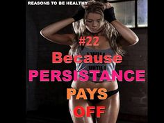 Be Persistant-it pays of
