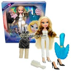 MGA Entertainment Bratz Passion 4 Fashion Series 10 Inch Doll Set - CLOE with 2 Outfits, White Hairbrush and Fragrance Exclusively Designed By Cloe