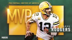 PFWA names Packers QB Aaron Rodgers its 2020 MVP Derrick Henry, Go Pack Go, Aaron Rodgers, Running Back, Second Best, Green Bay Packers, Football Helmets, Nfl, Two By Two