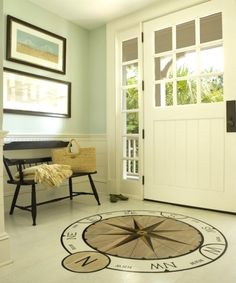 Nautical Compass Rose Design Ideas for the Home