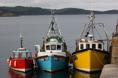 Mevagissey harbour by The Big Sister, via Flickr