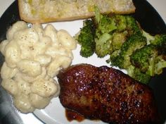 Sarah's Life in Food!: Recipe Spotlight: Balsamic Glazed Steak with Creamy Gorgonzola Gnocchi