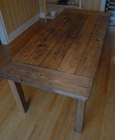 I've always wanted a farmhouse table